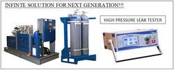 High Pressure Leak Test Machine