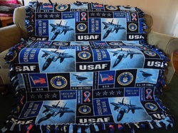 Air Force Army Blanket