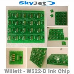 SkyJet - Willett - W-522D Ink Chip