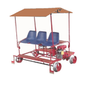 Railway Light Weight Push Trolley