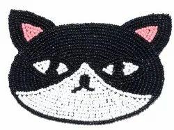 Cat Bead Coaster