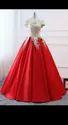 Designer V-neck Ladies Wedding Wear Items, Age: Above 20 Girls