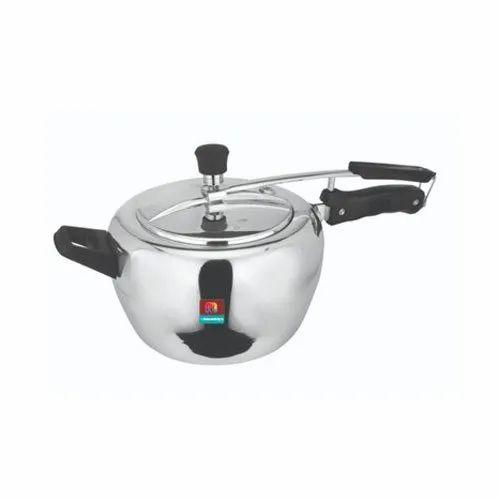 Polished 2 Litre Apple Pressure Cooker