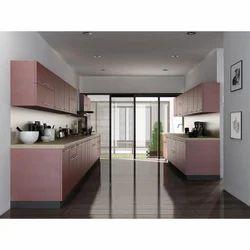 Parallel Shaped Modular Kitchen