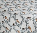 Bird Print Cotton Bedsheet for Double Bed