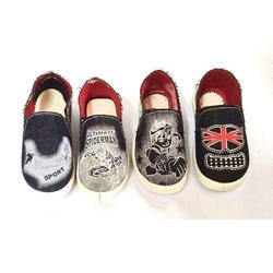 Denim Kids Loafers Shoes