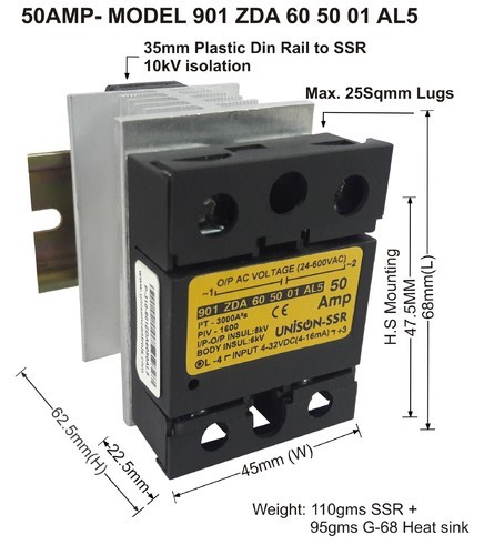 Solid State Relays ssr Unison Solid State Relay Insys