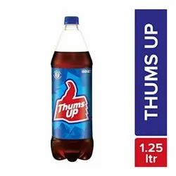 1.25 L Thums Up Cold Drink, Liquid, Packaging Type: Carton