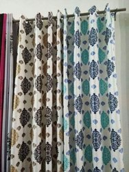 Printed Eyelet Curtains