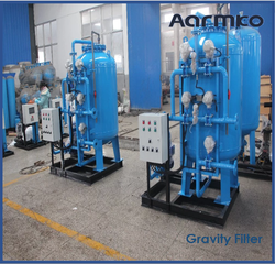 GRAVITY SAND FILTERS