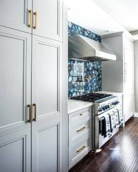 Blue Agate Kitchen Backsplash