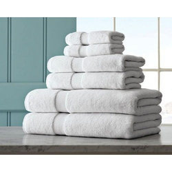 Plain White Towels