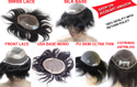 Men Hair Patch and Human Hair Toupee