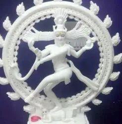 White Marble Nataraja Statue