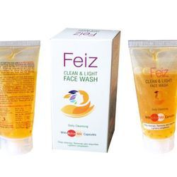 Feiz Clean and Light Face Wash, Packaging Size: 50 Ml To 150 Ml, Packaging Type: Box