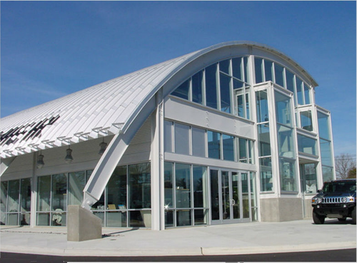 curved roofing system - Curved Roof