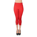 Cotton, Polyester Capri Leggings