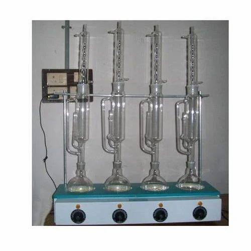 Soxhlet Extraction Unit At Rs 3210 Unit स क सल ट एक सट र क शन य न ट D K Scientific Industries Ambala Id 15984442791