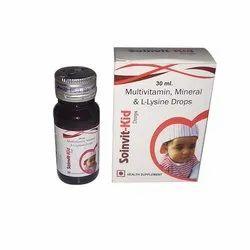 Multivitamin, Mineral & L-Lysine Drops