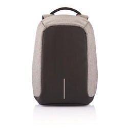 XD Design Bobby XL Grey Anti Theft Backpack For 17 Inch Laptop