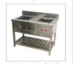 2 Burner Stainless Steel Range