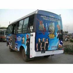 Offline Bus Wrap Advertising Service