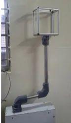 Mild Steel Suspension System For Controller Enclosure