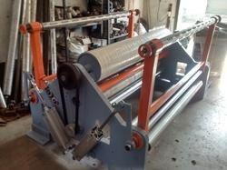 Shreeji Tech Engineering Fabric Slitting Rewinder Machine