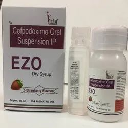 Cefpodoxime dry syrup with WFI