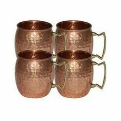 Copper Moscow Mule Hammered Mug
