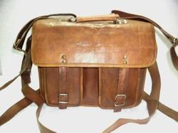 Full Grain Leather Briefcase Shoulder Bag