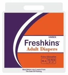 Adult Taped Diaper - Medium