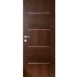 Interior Polished WD-15 Wooden Door, for Home, Hotels