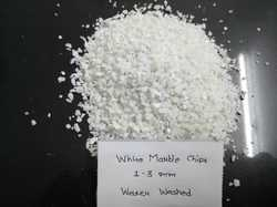 High Quality White Marble Chips / Marble gravel / marble grit wholesaler