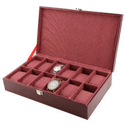 12 Red Wine Watch Organizer