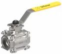 1 1/2 3PC Manually Ball Valve with ISO Pad (SS 304)