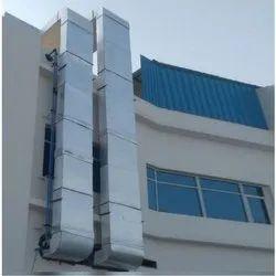 Rectangular Galvanized Iron Air Duct, for Ventilation