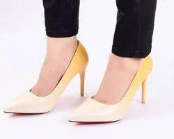 Partywear Lemon Ombre High Heels Ladies Bellies