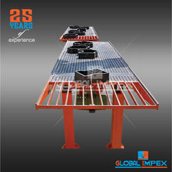 Concrete GLOBAL Vibro Table Paver Block Machine, Capacity: 500-1000 Blocks per hour, Automation Grade: Semi-Automatic