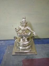 Lord Ayyappa 18 Inch Panchaloham