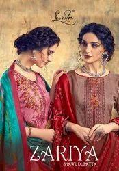 Levisha Zariya Shawal Dupatta Pashmina Winter Dress Material Catalog