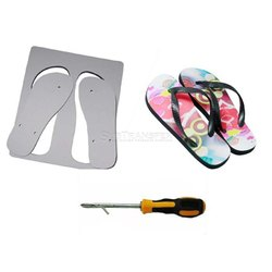 Hawaii Sublimation Flip Flops,Slippers with Rubber Strap
