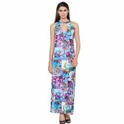 WS -027 Printed Maxi Dress