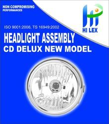 Hilex CD Deluxe Head Light Assembly