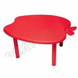 2-8 Years Red PlayGro Apple Table, For Kids Table