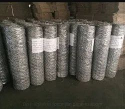 Hexagonal Silver Chicken Wire Mesh, Material Grade: G.i, Thickness: 18 Swg