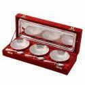 7 Pc Silver Bowl Set