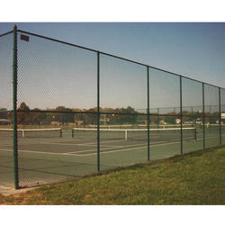 Iron Tennis Court Fence