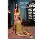 Rachna Linen Silk Patch Work Portrait Catalog Saree For Women 5
