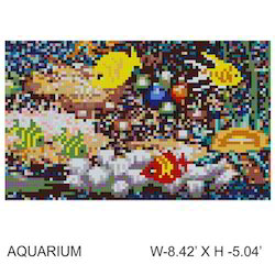 Crystal Glass Mosaic Mural